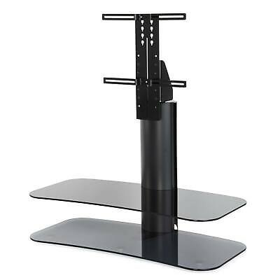 """Off The Wall ARC 1000 ST Glass Fits up to 55""""Cable Management TV Stand Grey"""