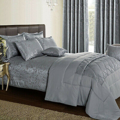 Jacquard 3 Piece Bedspread Comforter Set Single Double King S-King Bedding Set