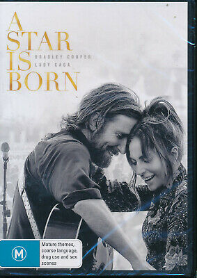 A Star Is Born DVD NEW Region 4 Lady Gaga Andrew Dice Clay Sam Elliott