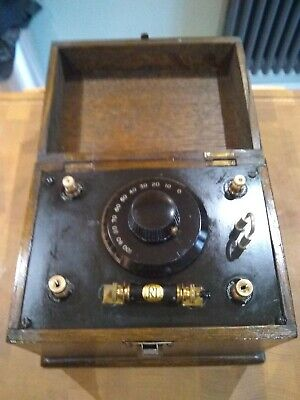 Crystal Radio 1920's with permanent detector