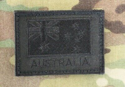 Australia, Australian Flag, ANF, Army, ADF, Black, Military, Patch, Subdued, XL