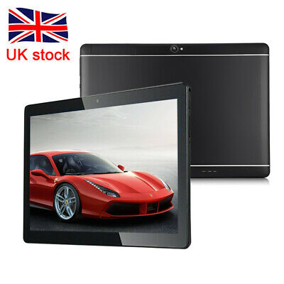 10.1'' 64GB Android 7.0 Tablet PC Octa Core 10 Inch HD WIFI 2 SIM 4G Phablet UK