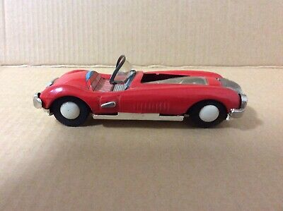 Vintage 1959 Tinplate Sports Car Made In Japan