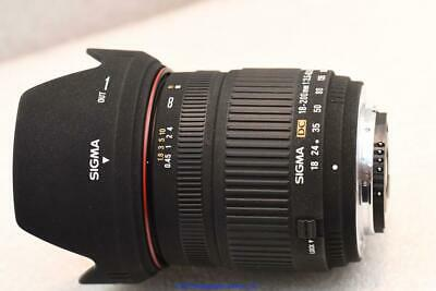 Nikon fit Sigma 18-200mm DC Zoom Lens GREAT CONDITION