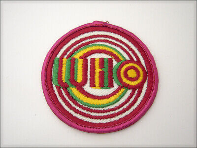 THE WHO Vintage 80's Embroidered Patch. England Rock Roll Rolling Stones. Parche