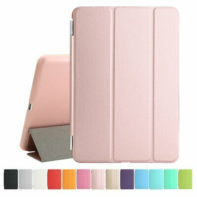 Rose Gold For Apple iPad 9.7in 6th Gen 2018 Smart Case Magnetic Cover Stand Flip