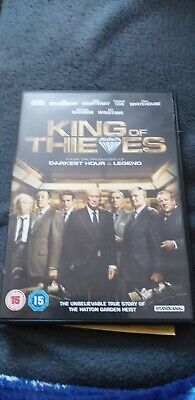 King of Thieves - DVD - 2019 watched once exc condition