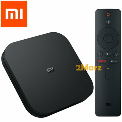 Xiaomi Mi Box S Int 4K HDR 2019 Android TV 8GB Media Android 8.1 Google Cast