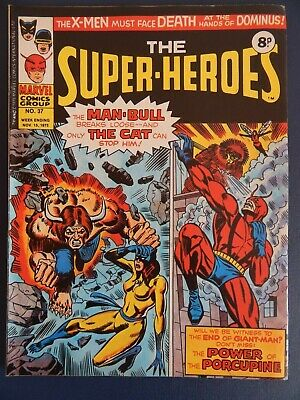Bronze Age Marvel - The Super-Heroes  # 37 (1975)