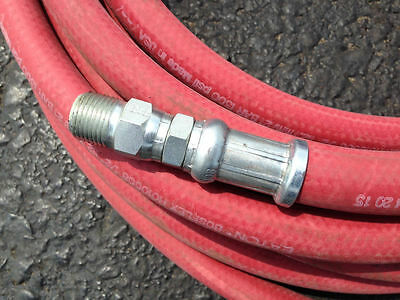 "3/4"" X 80 FT. Reinforced Spray Hose with Hydraulic Fittings, 300 PSI"