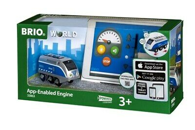 Brio Wooden Railway Trains App-Enabled  Engine 1 Piece Age 3+ 33863 Boxed New