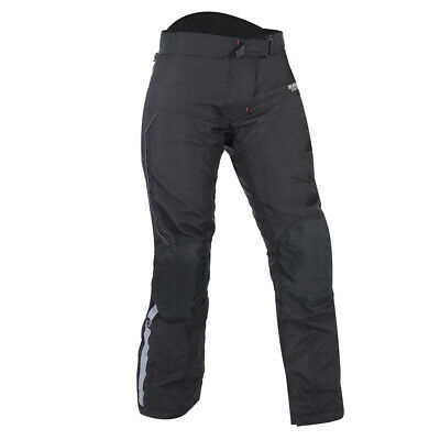 Ladies Motorcycle Pant OXFORD DAKOTA 1 Waterproof Biker Trouser Short Tech Black