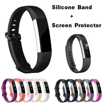 NEW For Fitbit Alta HR Replacement Silicone Wristband Bracelet Band Strap
