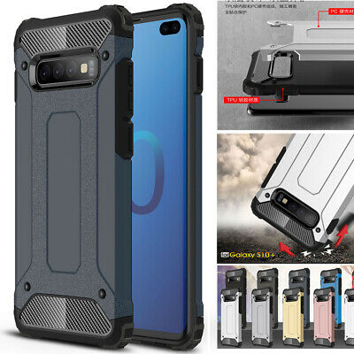 Shockproof Rugged Armor Case for Samsung Galaxy S10Plus/S10e A9 A6s Hybrid Cover