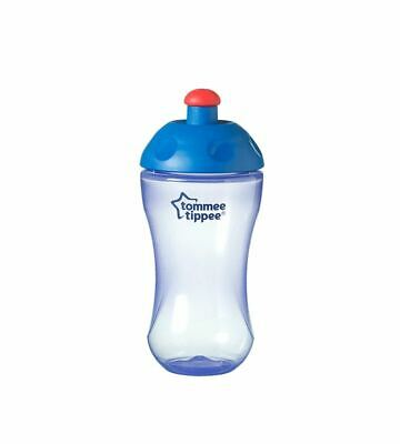 Tommee Tippee First Sports Baby Essentials Bottle Freeflow 12m+, 300ml, Purple