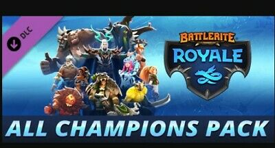 [Battlerite Royale ] All Champions Pack