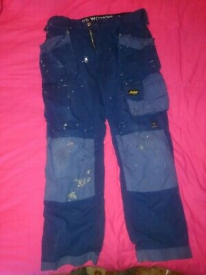 Snickers Work Trousers 35w 32L holster pockets, cooltwill,