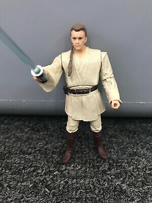 Star Wars Movie Heroes Series Obi-Wan Kenobi Light-Up Lightsaber Figure 2012