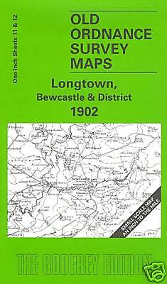 Old Ordnance Survey Map Longtown, Bewcastle & District 1902