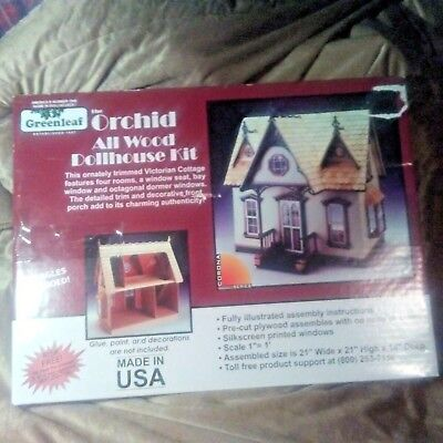 Greenleaf The Orchid All Wood Doll House 9301  New in Box