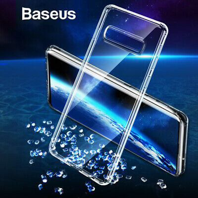 For Samsung Galaxy S10/S10+ Ultra Thin Clear Transparent Silicone Case Cover