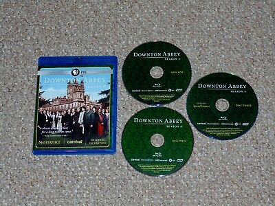 Downton Abbey: Season 4 Blu-ray 2014 3-Disc Set