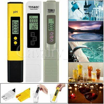 Digital Electric TDS/EC/PH Meter Tester Hydroponics Water Test Pen High Quality