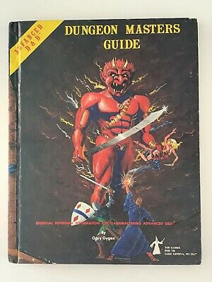 Advanced Dungeons & Dragons Dungeon Masters Guide Revised Ed 1979 AD&D TSR 2011