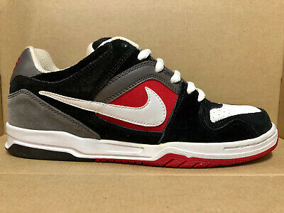 df0aa8335 MEN S NIKE AIR ZOOM ONCORE SHOES SIZE 8.5 black white fog red 313661 013