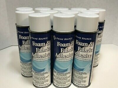 Foam and Fabric Adhesive, 13 oz Can, 12 Cans/Case