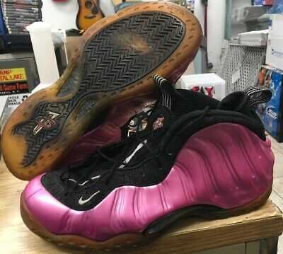 dfb9dce51d2 Beaters Nike Air Foamposite One Pearlized Pink 314996-600 Sz 11 AS IS Worn  Used