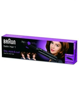 Braun Satin Hair 1 AS110 Airstyler Warm-air Curling Brush With Brush Attachment