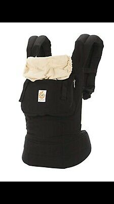 b525fecf89a Ergo Baby Carrier Original Cotton Canvas Black 3 position baby carrier