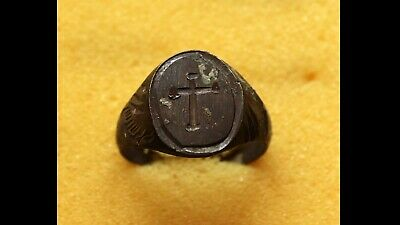 Ancient Roman Old Bronze Ring VERY RARE