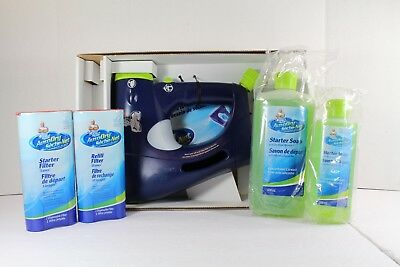 Mr Clean Auto Dry Car Wash System 800ml Refill Soap & 13 Uses Filter Brand New