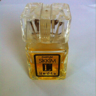 VINTAGE SIKKIM parfum by Lancome 14ml VERY RARE 1974's France