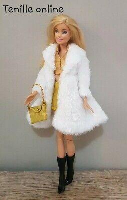 New Barbie clothes complete outfit gold wedding fashion boots shiny
