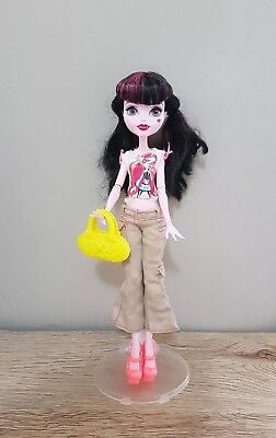 Monster High Doll New Dress complete Outfit Clothes handbag shoes top pants