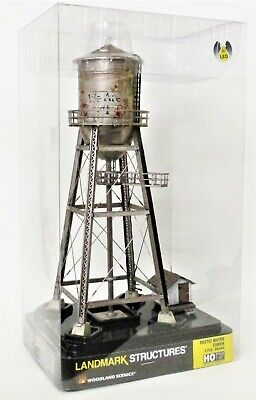 HO Scale Woodland Scenics BR5064 Rustic Water Tower  Built & Ready Structure