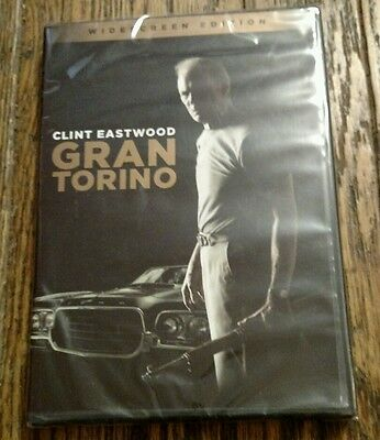 Gran Torino (DVD, 2009, Widescreen) with Clint Eastwood NEW SEALED