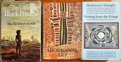 Lot 3x Books - AUSTRALIAN ABORIGINAL ART, STORY AND WRITINGS - Gunn, Narogin