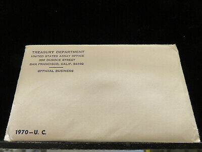 1970 P and D US Mint Uncirculated Set Sealed J018