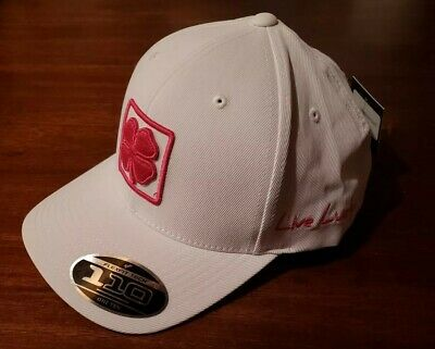 4c2c9b2e0bc Black Clover Live Lucky Dream Big White Pink Baseball Cap 1 Size New With  Tags