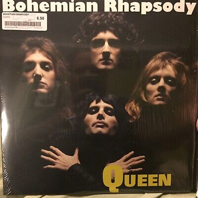 "QUEEN Bohemian Rhapsody 12"" Inch VINYL Single RSD  Freddie Mercury Rare"