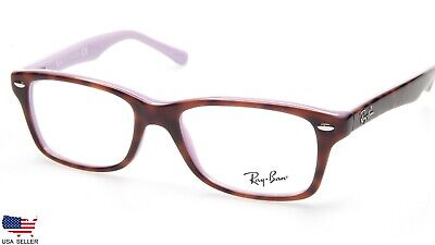 f4803ae5d5869 NEW Ray Ban RB1531 3700 TOP TORTOISE On PURPLE EYEGLASSES FRAME 48-16-130