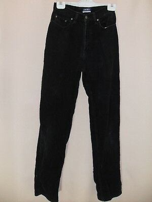 1990's Vintage High Waisted Straight Leg Cord Jeans.