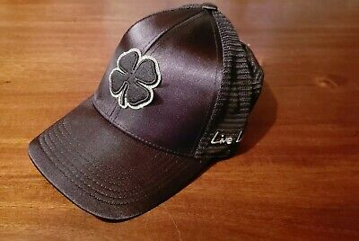 a3d1e60e45a NEW BLACK CLOVER Live Lucky BC Style 16 White Green Fitted S M Hat ...