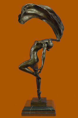Bronze Sculpture Nude Woman Abstract Hot Cast Masterpiece by Vitaleh Figurine