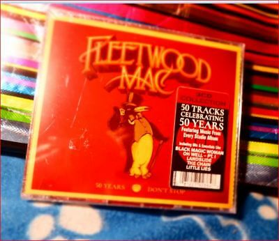 "3xCD Fleetwood Mac/Best of New 2018 Jewel Boxset Freepost  ""50 Years: Dont Stop"""