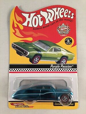 7c7f0e2448e Collectors Nationals Convention 6th Annual Hot Wheels Atlanta Purple Passion